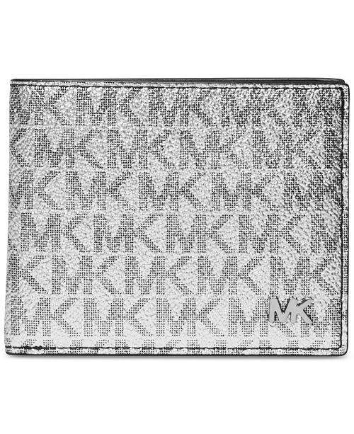 0e578f6cd865 Michael Kors Men s Jet Set Logo-Print Slim Billfold   Reviews - All ...