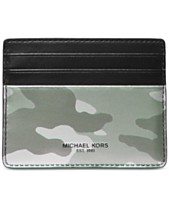b73ec1f7c113 Michael Kors Men s Kent Camo Tall Card Case