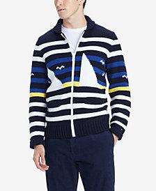 Tommy Hilfiger Men's Coastal Striped Sweater