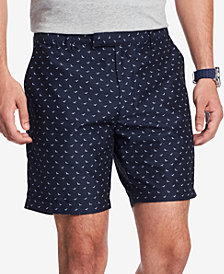 Tommy Hilfiger Men's Bird-Print Shorts, Created for Macy's