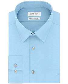 Men's Classic/Regular-Fit Stretch Flex Collar Solid Dress Shirt