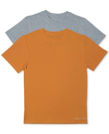Calvin Klein Little & Big Boys 2-Pack Cotton T-Shirts