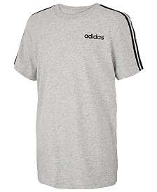 adidas Big Boys 3-Stripe Graphic T-Shirt