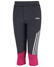 adidas Toddler Girls Colorblocked Capri Leggings