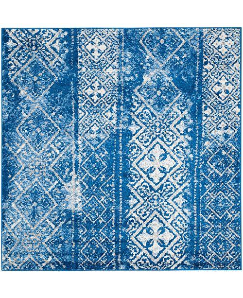 Safavieh Adirondack Silver and Blue 6' x 6' Square Area Rug