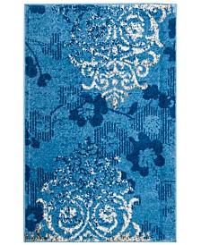 "Safavieh Adirondack Light Blue and Dark Blue 2'6"" x 4' Area Rug"