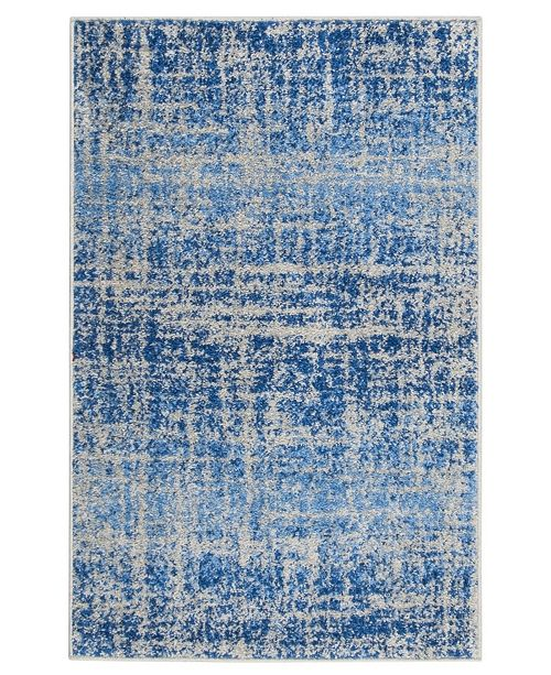 "Safavieh Adirondack Blue and Silver 2'6"" x 4' Area Rug"