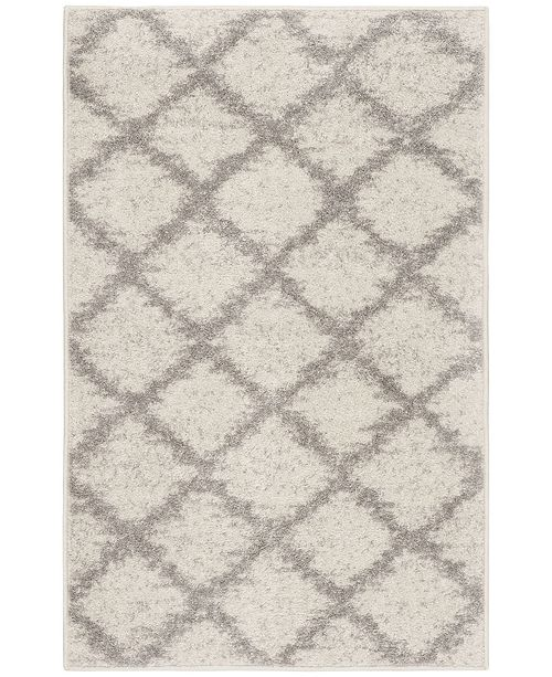 "Safavieh Adirondack Ivory and Silver 2'6"" x 4' Area Rug"