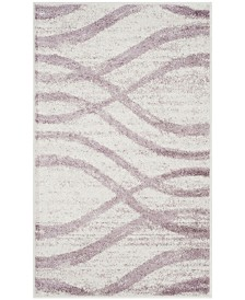 Safavieh Adirondack Cream and Purple 3' x 5' Area Rug
