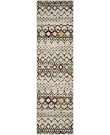"Safavieh Amsterdam Ivory and Multi 2'3"" x 8' Area Rug"