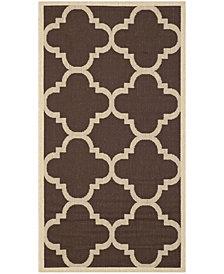 "Safavieh Courtyard Dark Brown 2'7"" x 5' Sisal Weave Area Rug"
