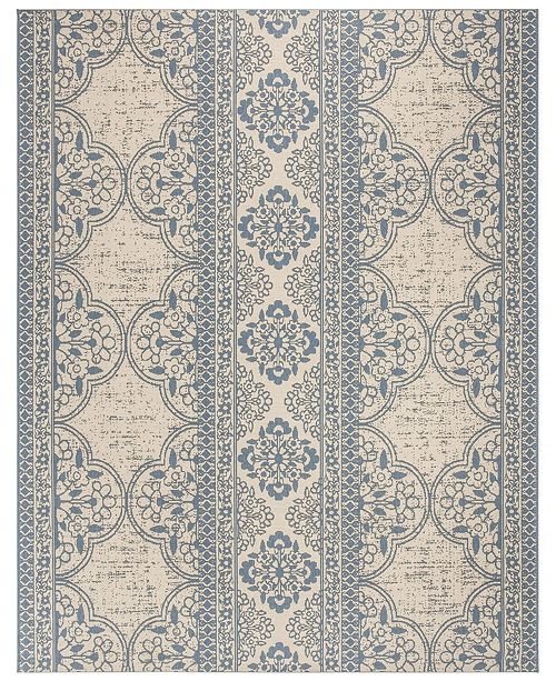 Safavieh Linden Blue and Creme 8' x 10' Area Rug