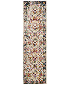"Safavieh Madison Cream and Navy 2'3"" x 8' Area Rug"