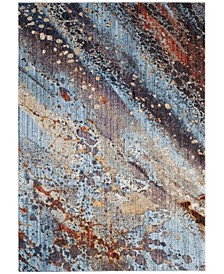"""Monray Red and Multi 5'1"""" x 7'6"""" Area Rug"""