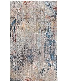 Monray Blue and Multi 3' x 5' Area Rug