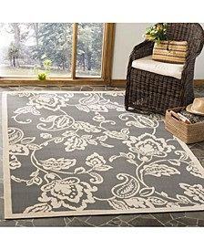 "Safavieh Martha Stewart Anthracite and Beige 5'3"" x 7'7"" Area Rug"
