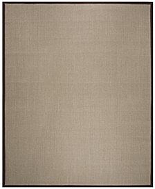 Safavieh Natural Fiber Sage and Brown 8' x 10' Sisal Weave Area Rug