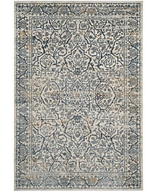 Safavieh Princeton Cream and Slate 4' x 6' Area Rug