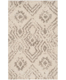 Safavieh Arizona Shag Ivory and Gray 3' x 5' Area Rug