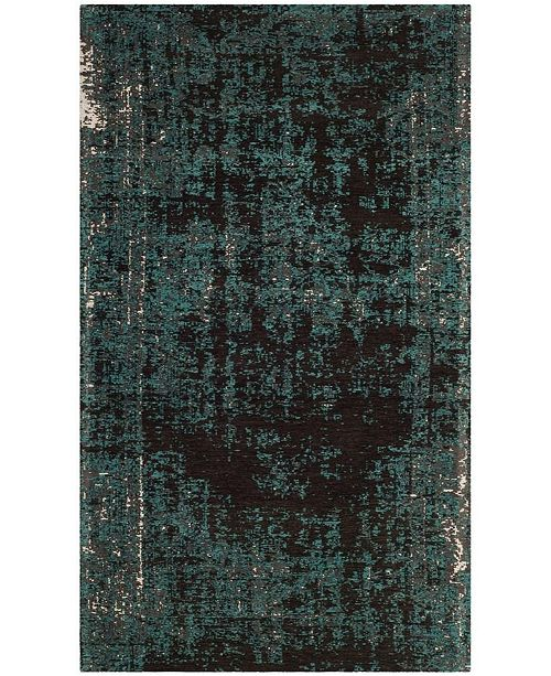 Safavieh Classic Vintage Teal and Brown 3' x 5' Area Rug