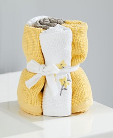 Spring Garden Wash Cloth Set