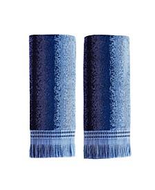 Eckhart Stripe 2 Piece Hand Towel Set