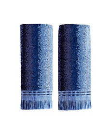 Eckhart Stripe 2 Piece Hand Towel Set