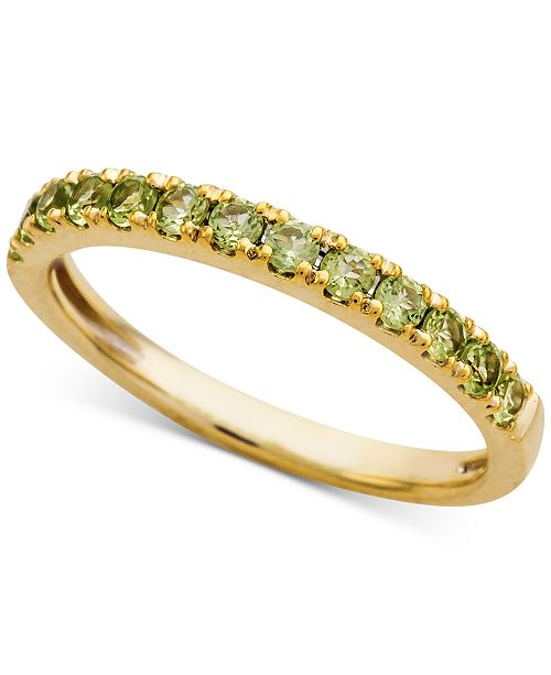Macy's Peridot (1/2 ct. t.w.) Ring in 14k Gold