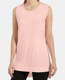 HUE® Sleeveless High-Low Tunic