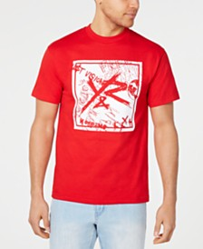 Young & Reckless Men's Square Logo Griffon T-Shirt