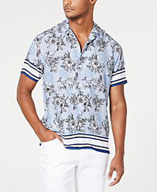 I.N.C. Men's Wesley Floral Shirt, Created for Macy's