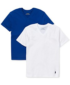 Polo Ralph Lauren Big Boys 2-Pk. Cotton T-Shirts