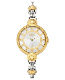 Versus by Versace Two-Tone God and Silver-tone Bracelet Watch, 36mm
