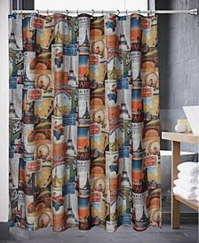 Chatham Paris Shower Curtain