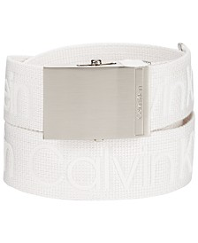 Calvin Klein Jeans Men's Logo Webbing Belt