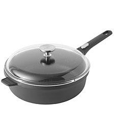 """GEM Cast Alum 11"""" Non-Stick Covered Sauté Pan"""