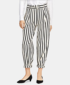 Polo Ralph Lauren Striped Cotton Wide-Leg Pants