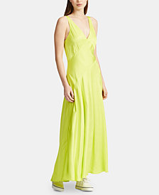Polo Ralph Lauren Satin A-Line Dress