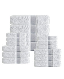 Enchante Home Unique 16-Pc. Turkish Cotton Towel Set