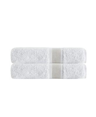 Unique 2-Pc. Turkish Cotton Bath Sheet Set