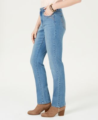 Image of Style   Co Tummy-Control Straight-Leg Jeans 9a2803607c48