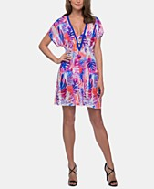 30151bff78941 Profile by Gottex Sanibel Swim Cover-Up Dress