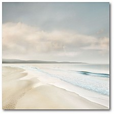 "Cloud Coast Gallery-Wrapped Canvas Wall Art - 20"" x 20"""