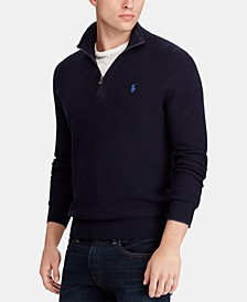 Men's Big & Tall Quarter-Zip Sweater