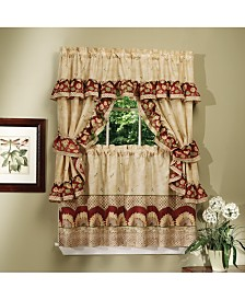 Sunflower Cottage Window Curtain Set, 57x36