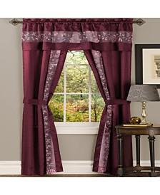 Fairfield 5 Piece Window Curtain Set, 55x63