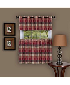 Harvard Window Curtain Tier Pair, 57x24