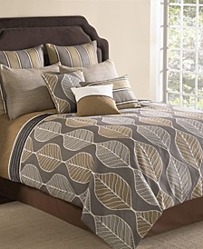 Brenda 9 Pc Queen Comforter Set