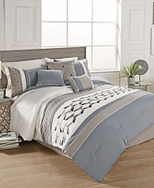 Beren 7 Pc King Comforter Set