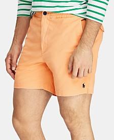 "Polo Ralph Lauren Men's 6"" E-Waistband Shorts"